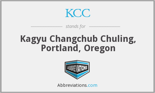 KCC - Kagyu Changchub Chuling, Portland, Oregon