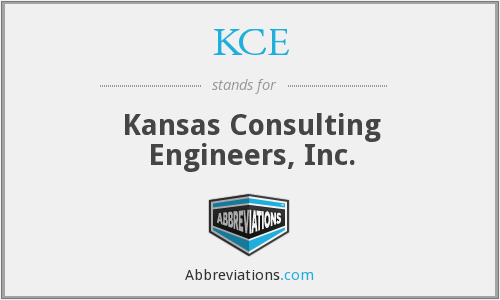KCE - Kansas Consulting Engineers, Inc.