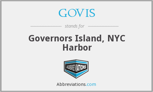 What does GOVIS stand for?