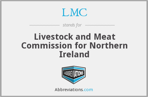 LMC - Livestock and Meat Commission for Northern Ireland