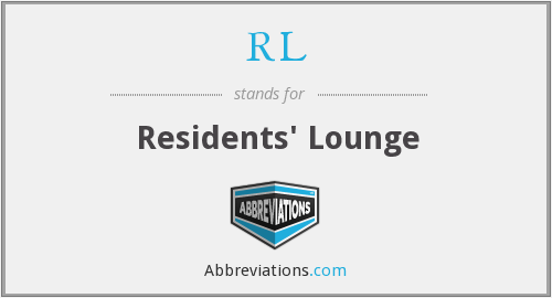 RL - Residents' Lounge