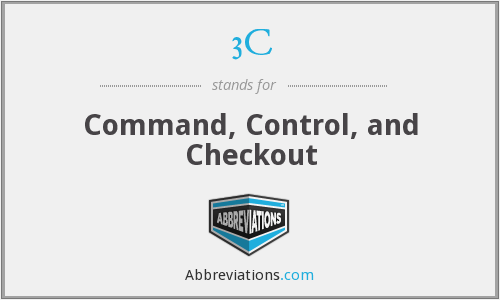3C - Command, Control, and Checkout