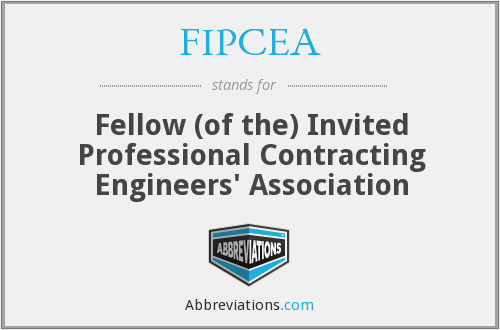 What does FIPCEA stand for?