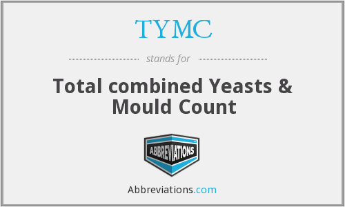 TYMC - Total combined Yeasts & Mould Count