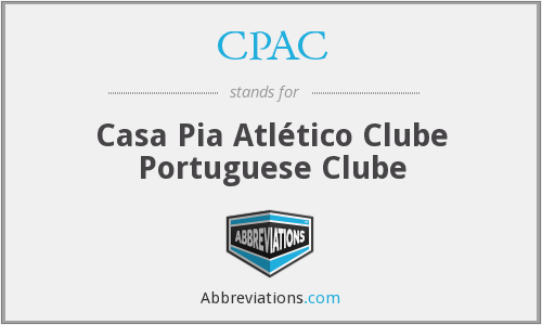 CPAC - Casa Pia Atlético Clube Portuguese Clube