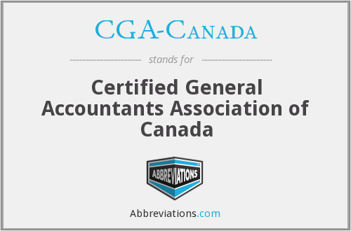 What does CGA-CANADA stand for?