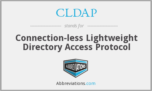 What does CLDAP stand for?