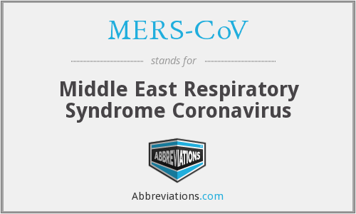 What does MERS-COV stand for?