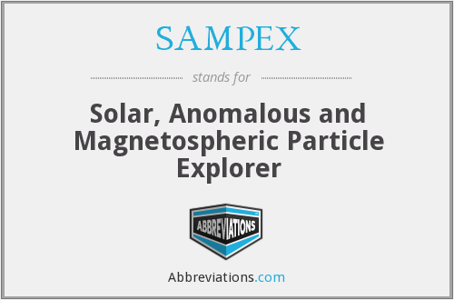 What does SAMPEX stand for?