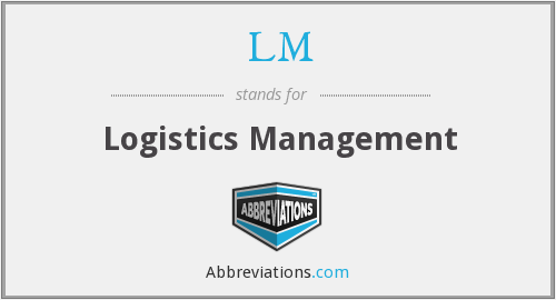 LM - Logistics Management