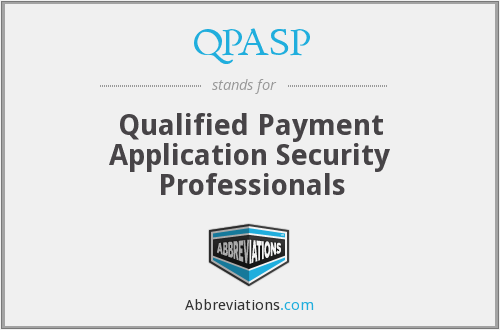What does QPASP stand for?