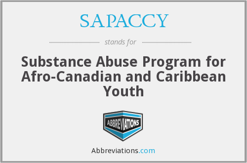 SAPACCY - Substance Abuse Program for Afro-Canadian and Caribbean Youth