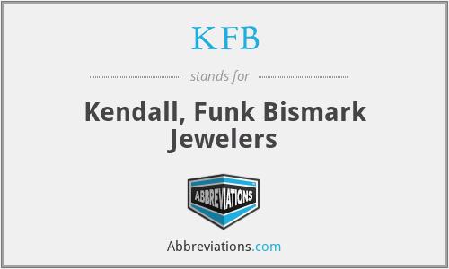 KFB - Kendall, Funk Bismark Jewelers