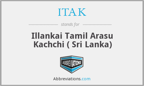 What does ITAK stand for?
