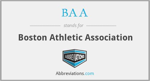 BAA - Boston Athletic Association