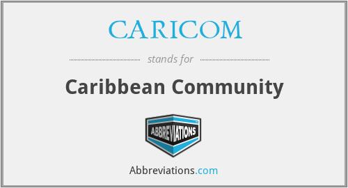 CARICOM - Caribbean Community