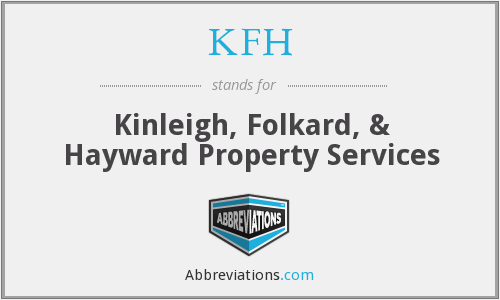What does KFH stand for?