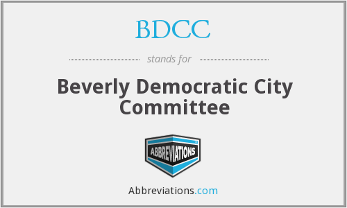 BDCC - Beverly Democratic City Committee
