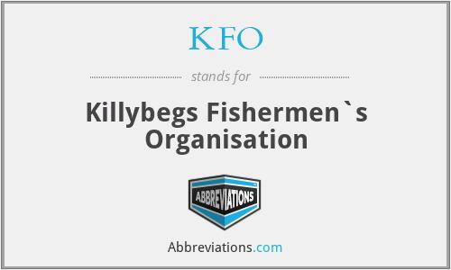 KFO - Killybegs Fishermen`s Organisation