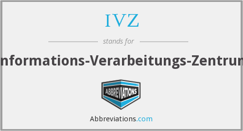 What does IVZ stand for?