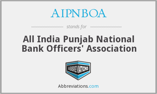 AIPNBOA - All India Punjab National Bank Officers' Association