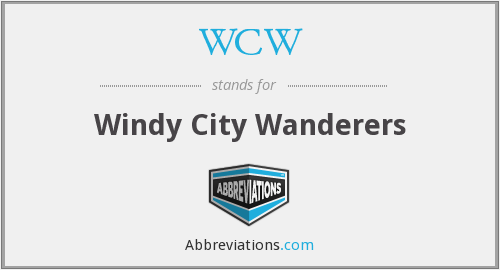 WCW - Windy City Wanderers