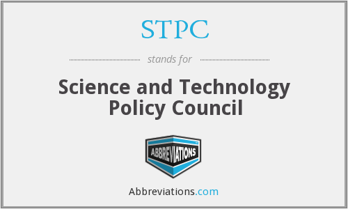 STPC - Science and Technology Policy Council
