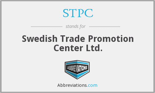 STPC - Swedish Trade Promotion Center Ltd.