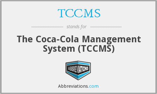 TCCMS - The Coca-Cola Management System (TCCMS)
