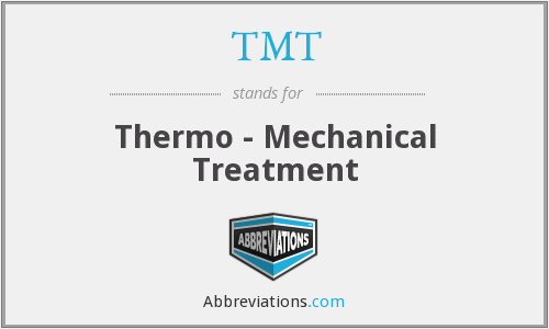 TMT - Thermo - Mechanical Treatment