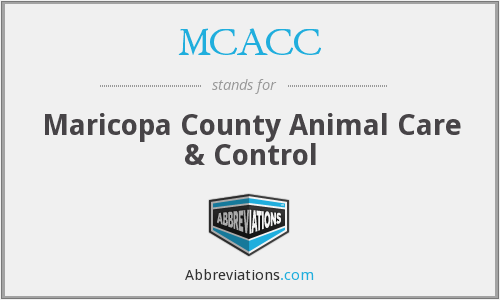 MCACC - Maricopa County Animal Care & Control
