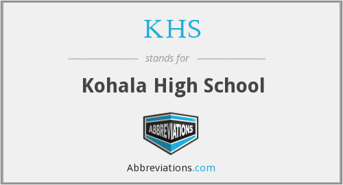 KHS - Kohala High School