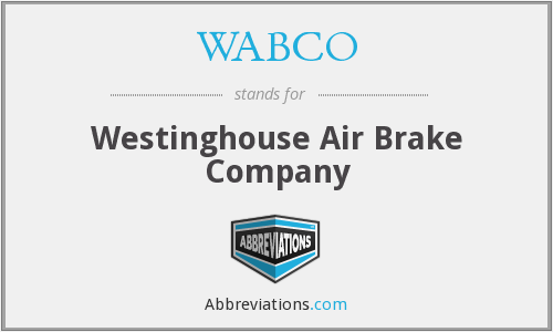What does WABCO stand for?