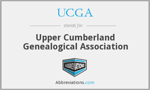 UCGA - Upper Cumberland Genealogical Association