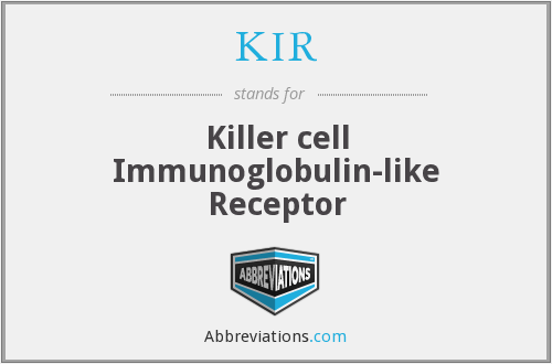 KIR - Killer cell Immunoglobulin-like Receptor