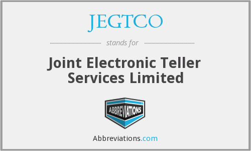 What does JEGTCO stand for?
