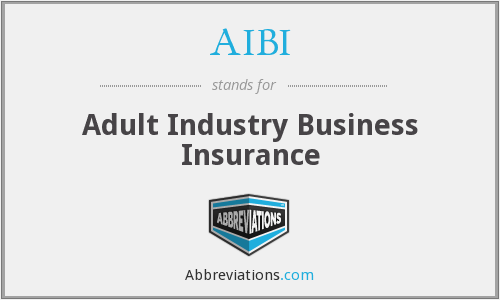AIBI - Adult Industry Business Insurance