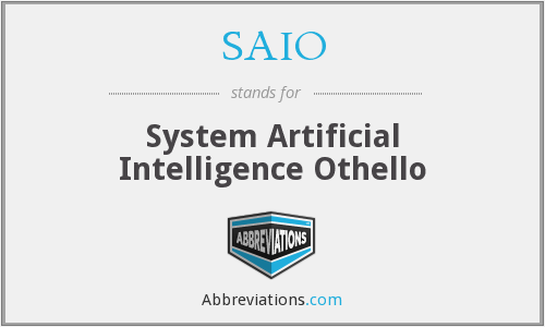 SAIO - System Artificial Intelligence Othello