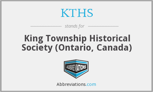 What does KTHS stand for?