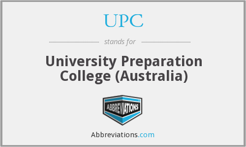 UPC - University Preparation College (Australia)