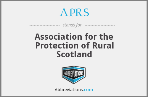 APRS - Association for the Protection of Rural Scotland