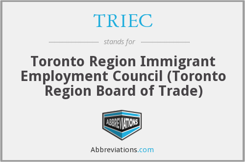 What does TRIEC stand for?