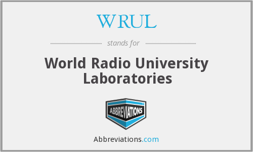 What does WRUL stand for?