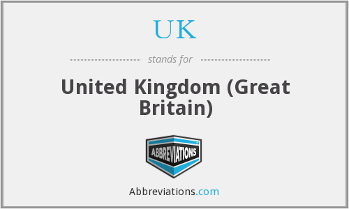 UK - United Kingdom (Great Britain)