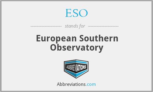 ESO - European Southern Ob