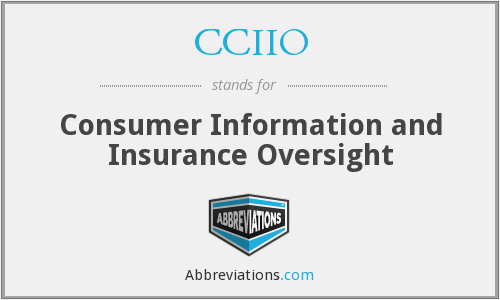 CCIIO - Consumer Information and Insurance Oversight