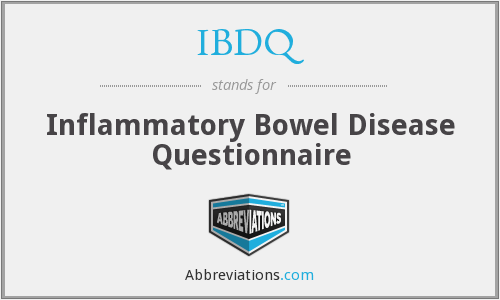 What does IBDQ stand for?