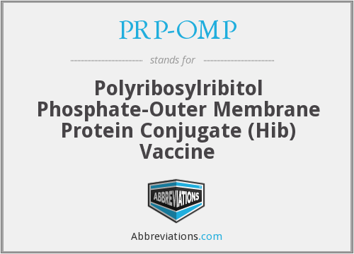 What does PRP-OMP stand for?