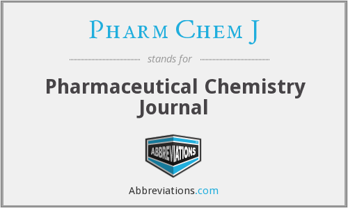 What does PHARM CHEM J stand for?