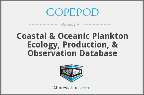 What does COPEPOD stand for?